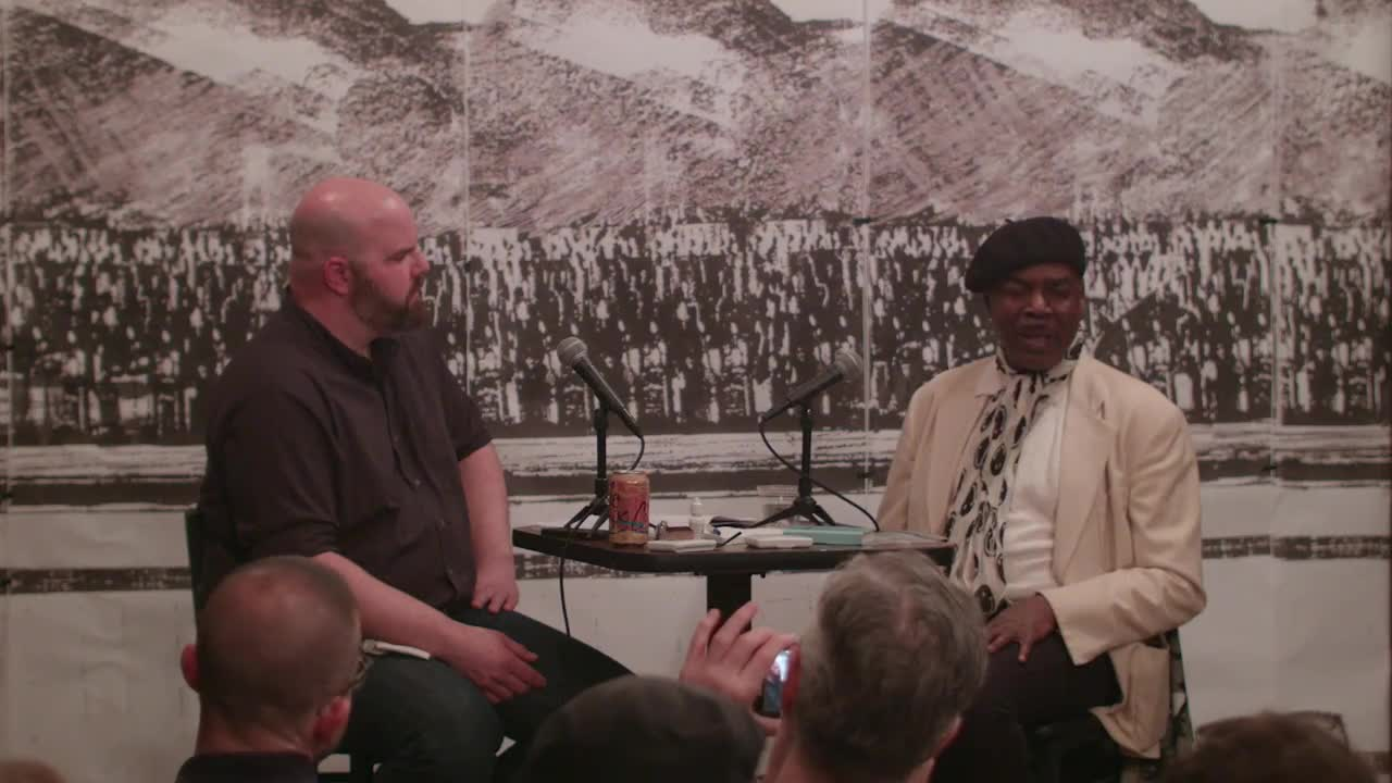 Video documentation of a conversation between John Neff and Frederick Weston.