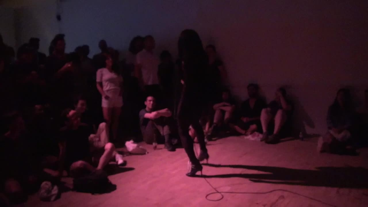 Video documentation of a performance by La Fem Ladosha.