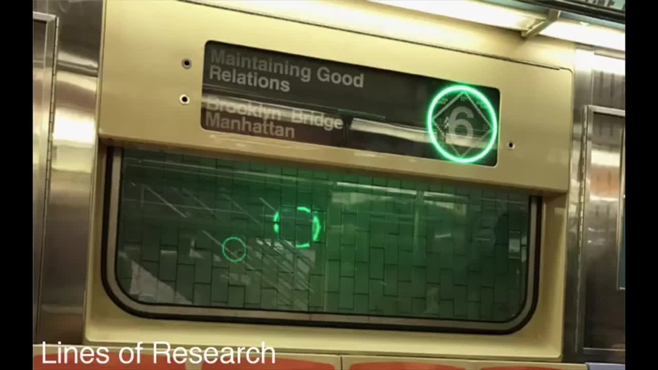 Audio livestream of Maintaining Good Relations: Lines of Research.
