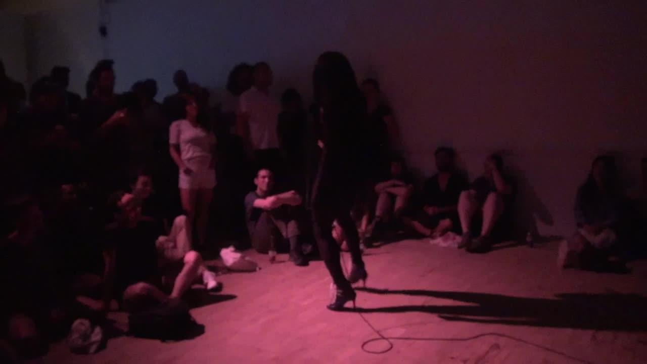 Video documentation of a performance by La Fem Ladosha.